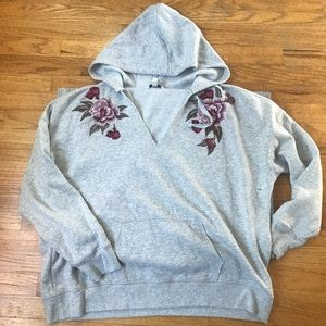 American Eagle embroidered hoodie sweatshirt XXL